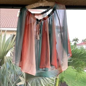 Anthropologie sheer top